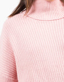 Detail of Oversized Turtleneck Sweater
