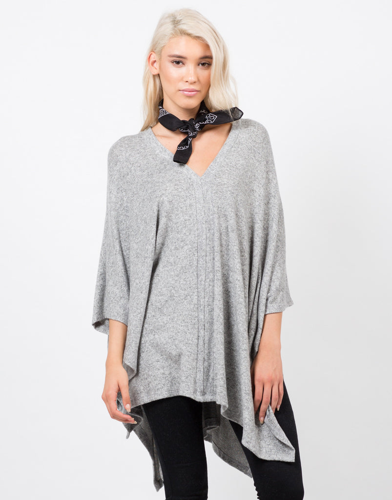 Oversize Fuzzy Top - 2020AVE