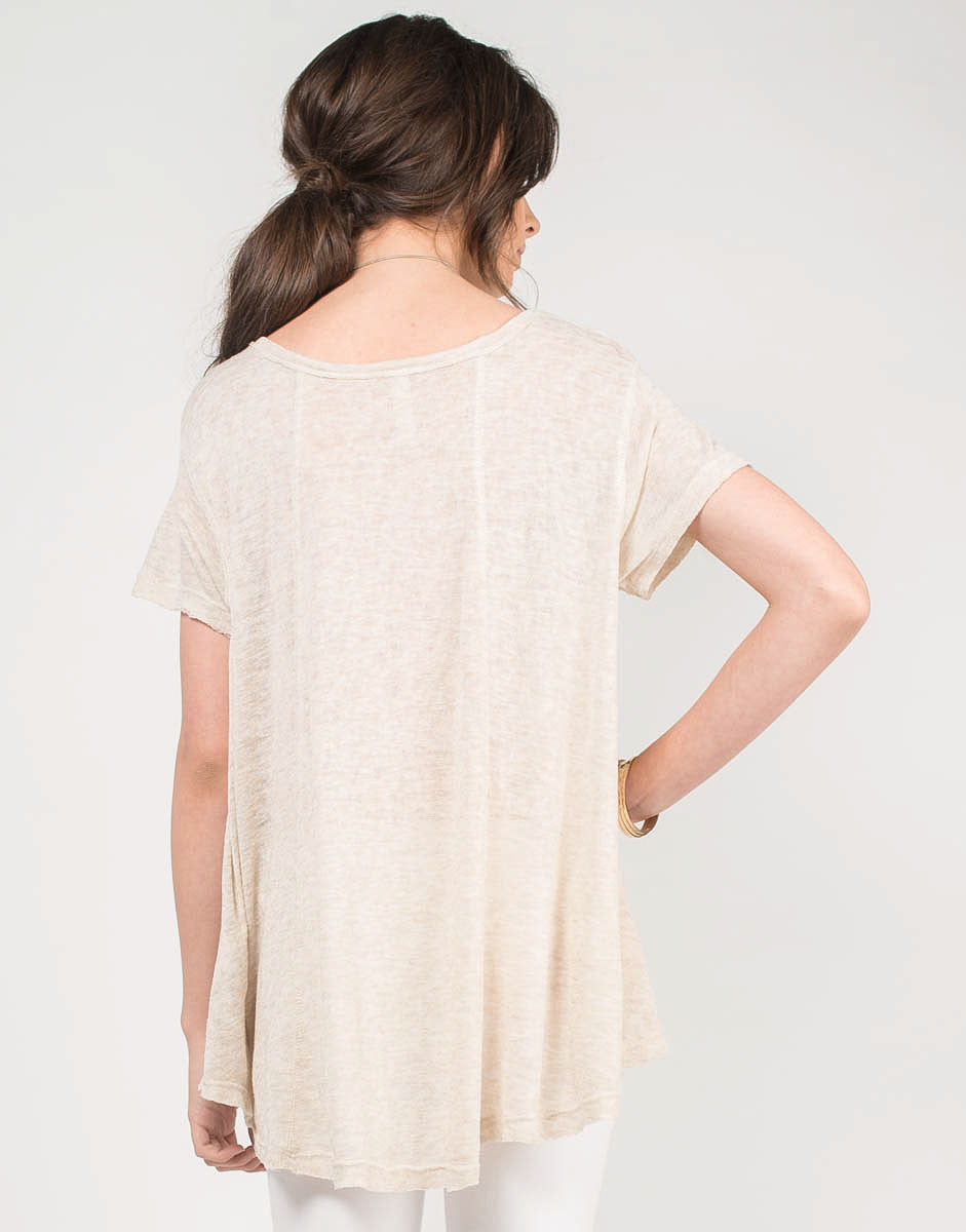 Back View of Oversize Me Top