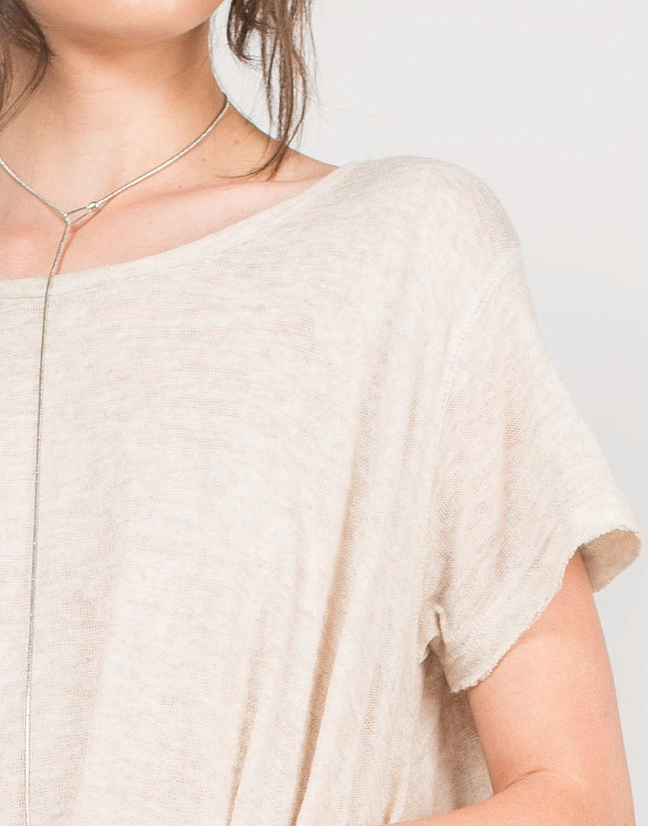 Detail of Oversize Me Top