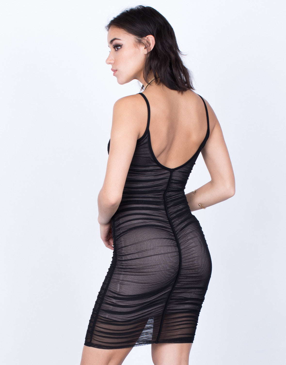 Back View of Own it Party Dress