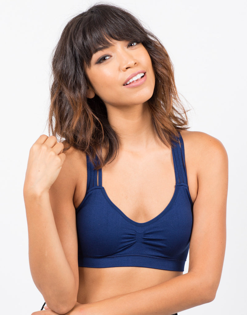 Padded Criss Cross Bralette - 2020AVE