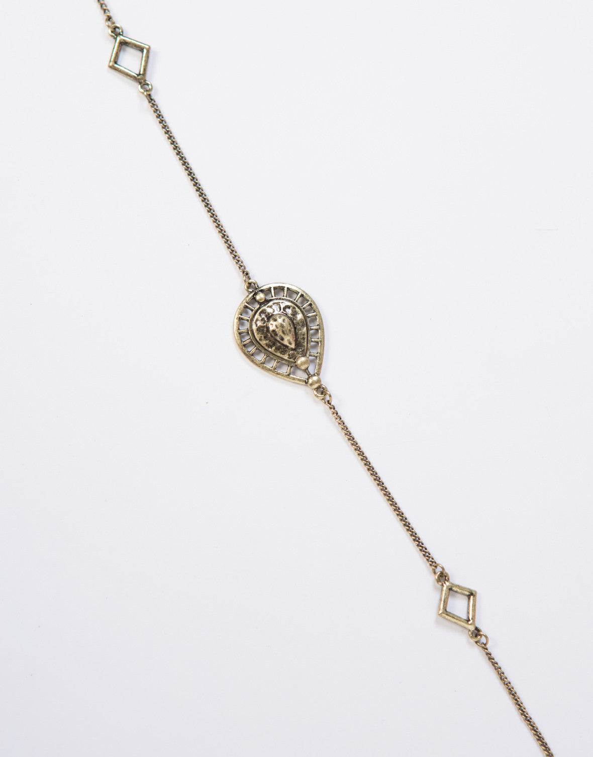 Paisley Diamond Body Chain
