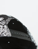 Back View of Paisley Snapback