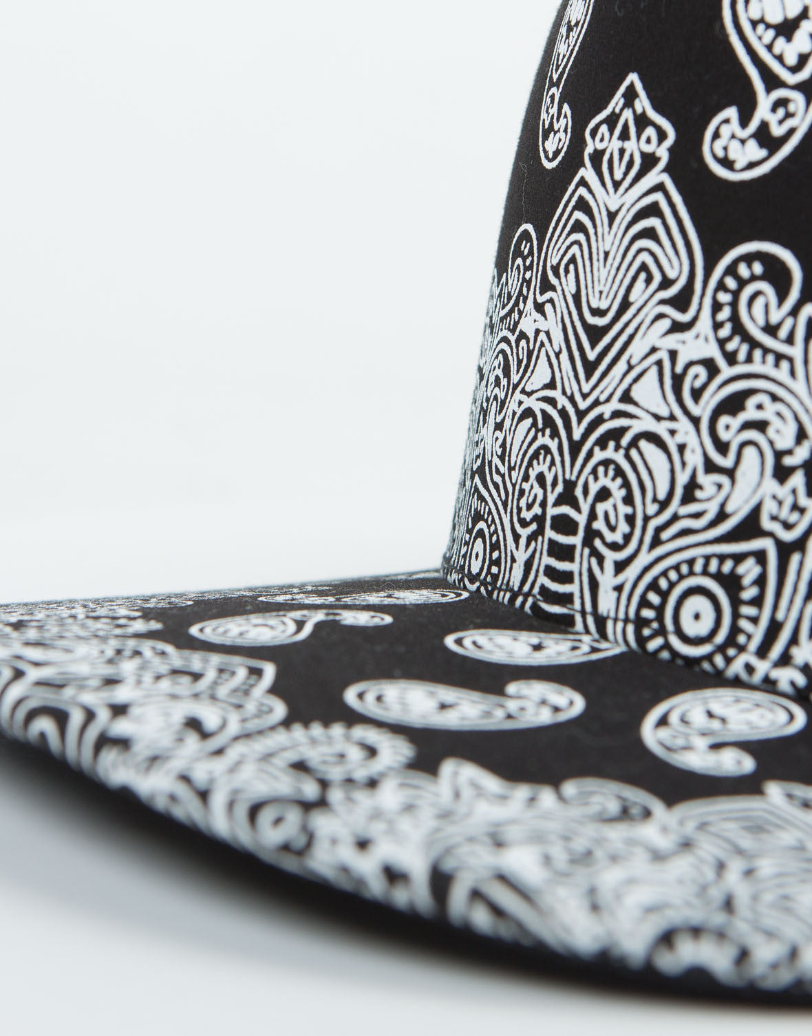 Detail of Paisley Snapback