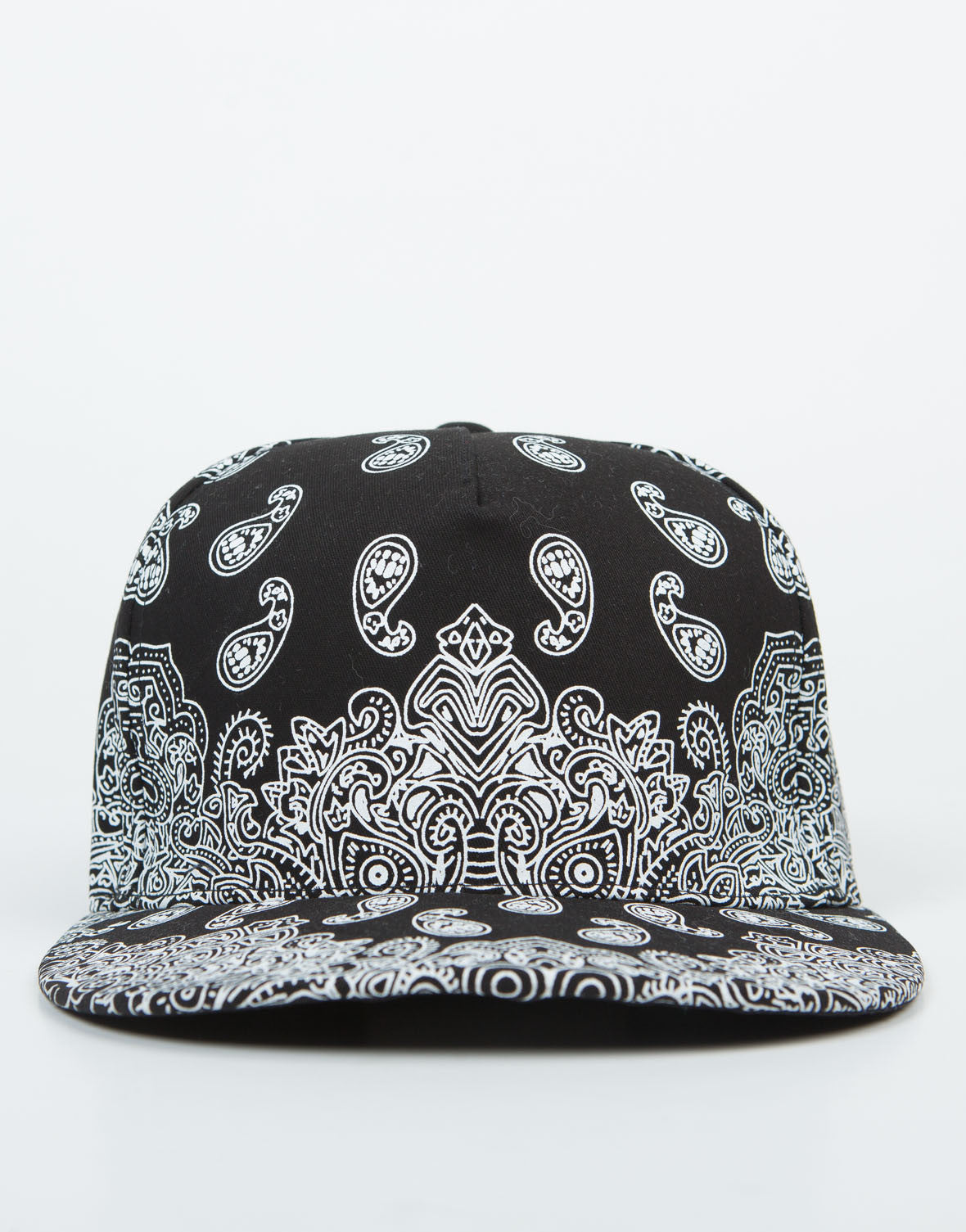 Front View of Paisley Snapback