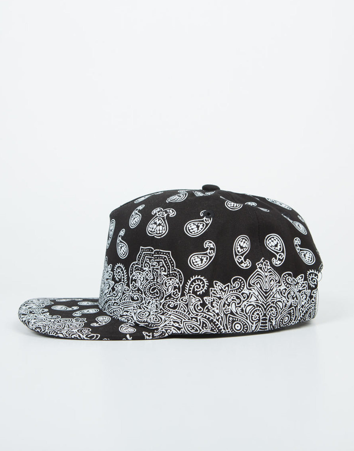 Side View of Paisley Snapback