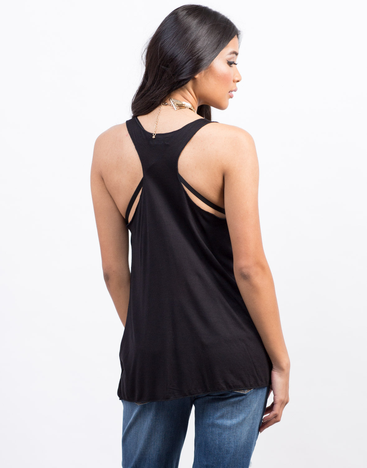 Back View of Part Time Mermaid Tank