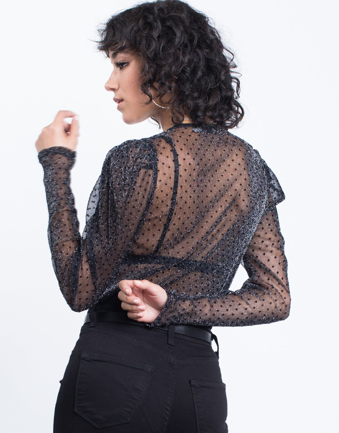 Party Time Sheer Bodysuit - 2020AVE