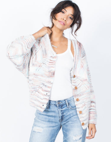 Pastel Knit Cardigan - 2020AVE