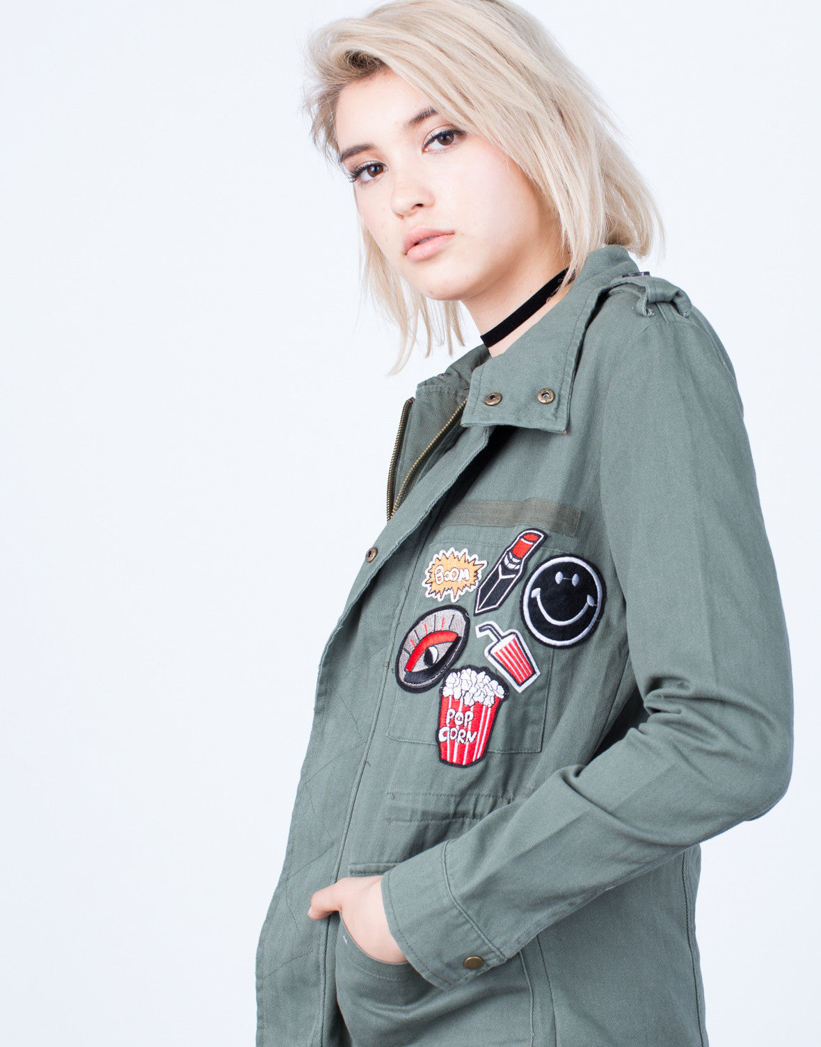 Patch Me Up Denim Jacket - 2020AVE