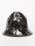 Front View of Patent Bucket Hat