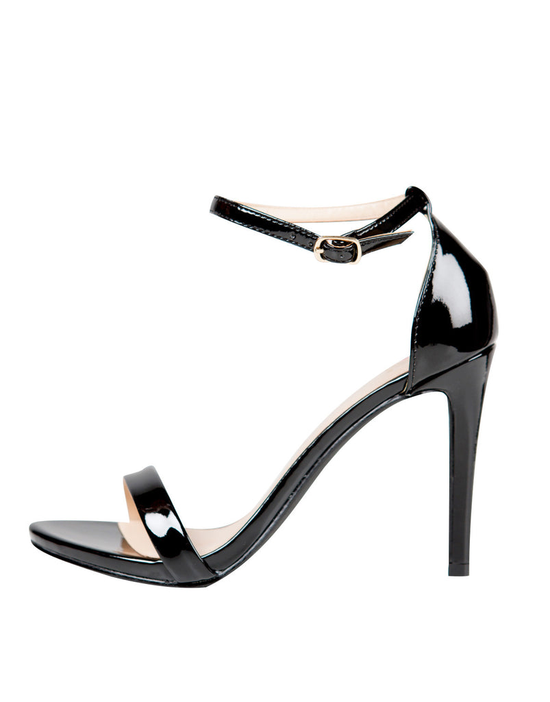 Patent Strapped Stilettos - 2020AVE
