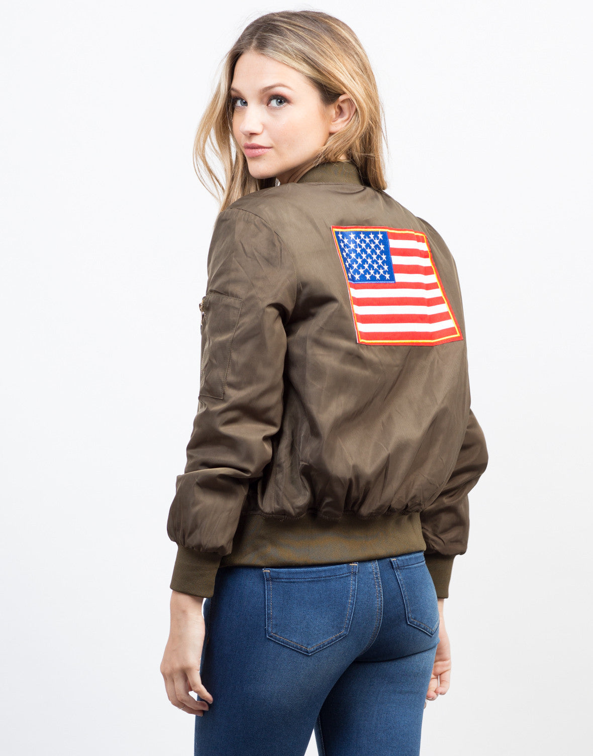 Patriotic Bomber Jacket - 2020AVE