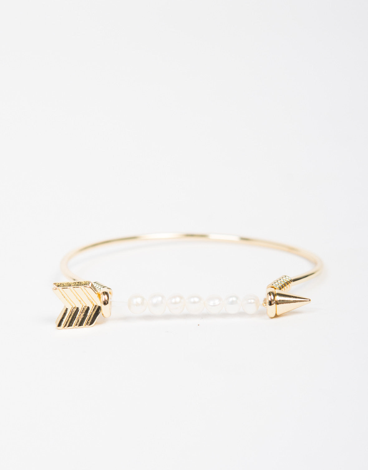 Pearly Arrow Bracelet