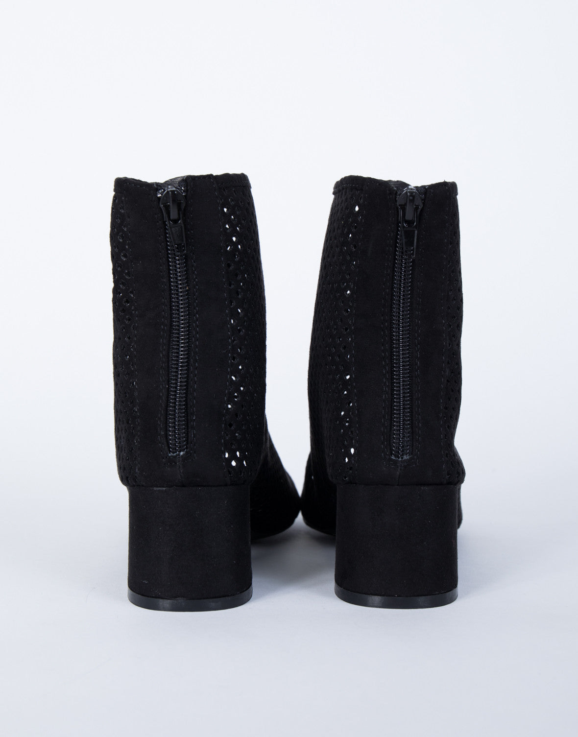 Perfectly Perforated Booties