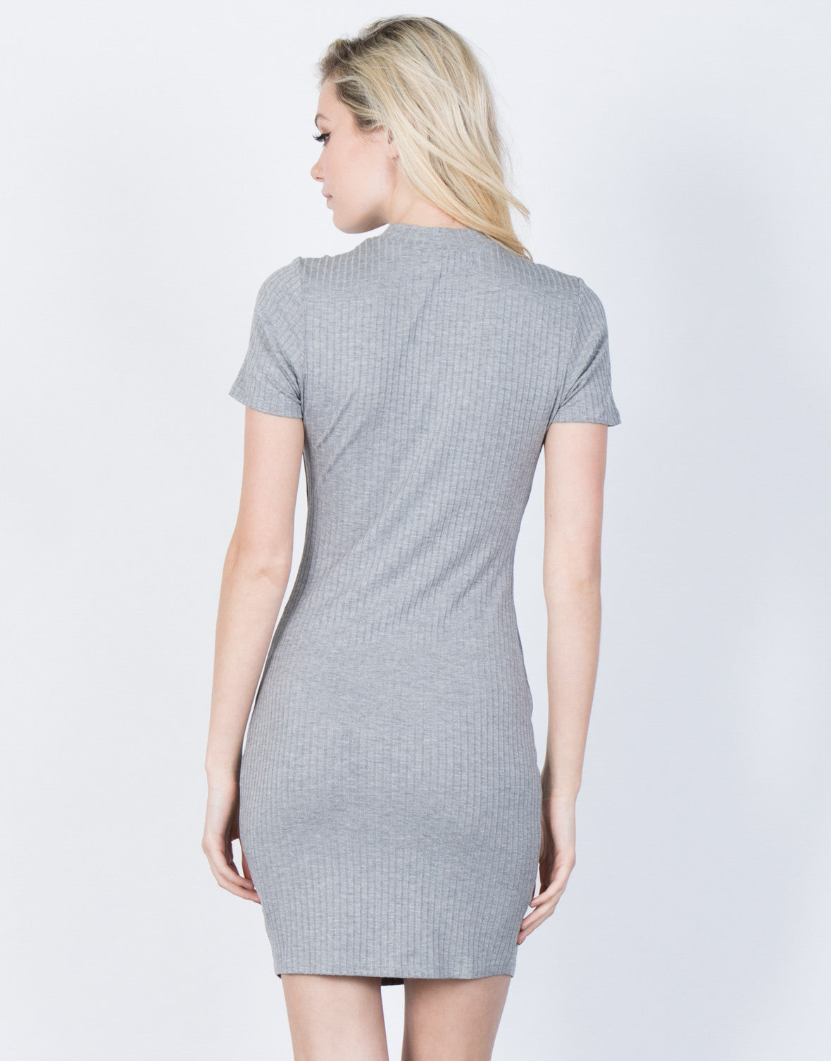 Back View of Perfect Fit Bodycon Dress
