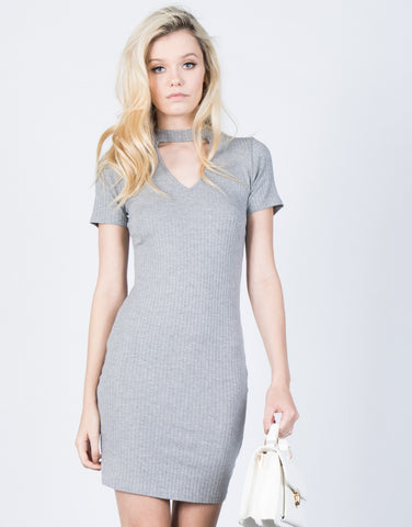 Front View of Perfect Fit Bodycon Dress