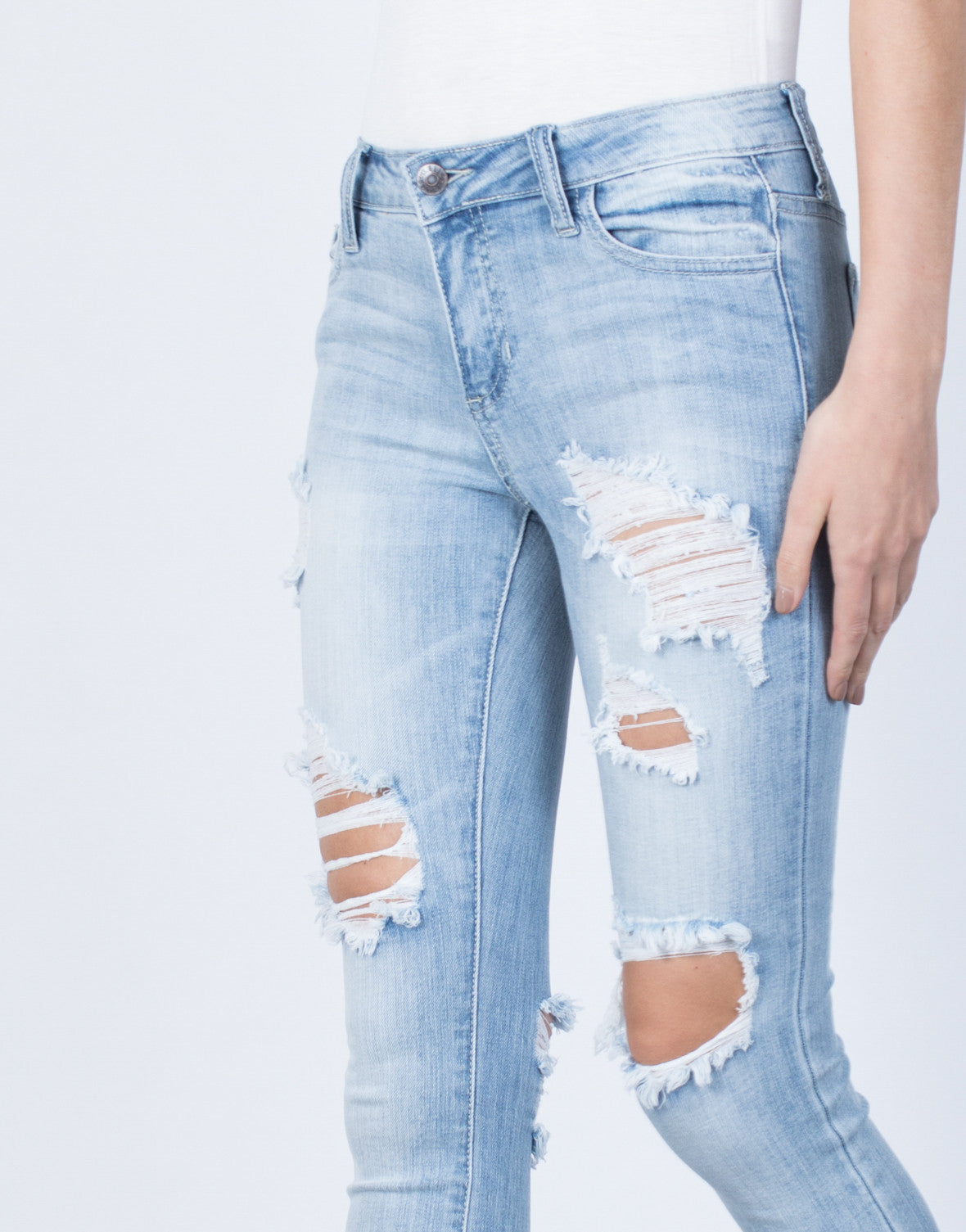 Detail of Perfect Fit Skinny Jeans