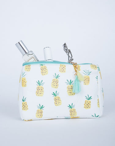 Pineapple Makeup Bag
