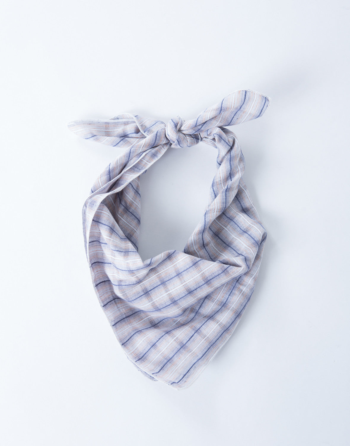 Plaid Bandana Scarf