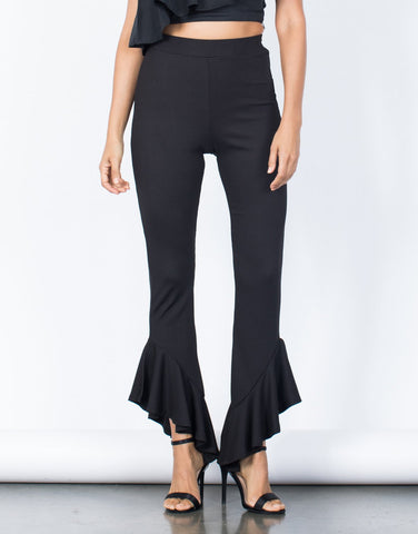 Playful Ruffled Pants - 2020AVE