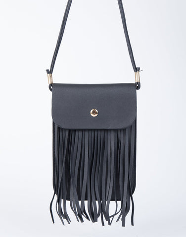Playful Fringed Mini Bag - 2020AVE