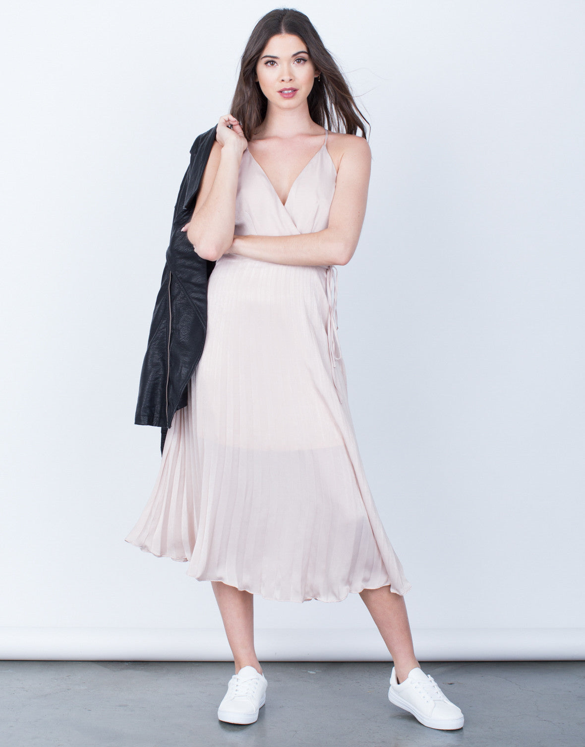 Pleated Cami Dress - 2020AVE
