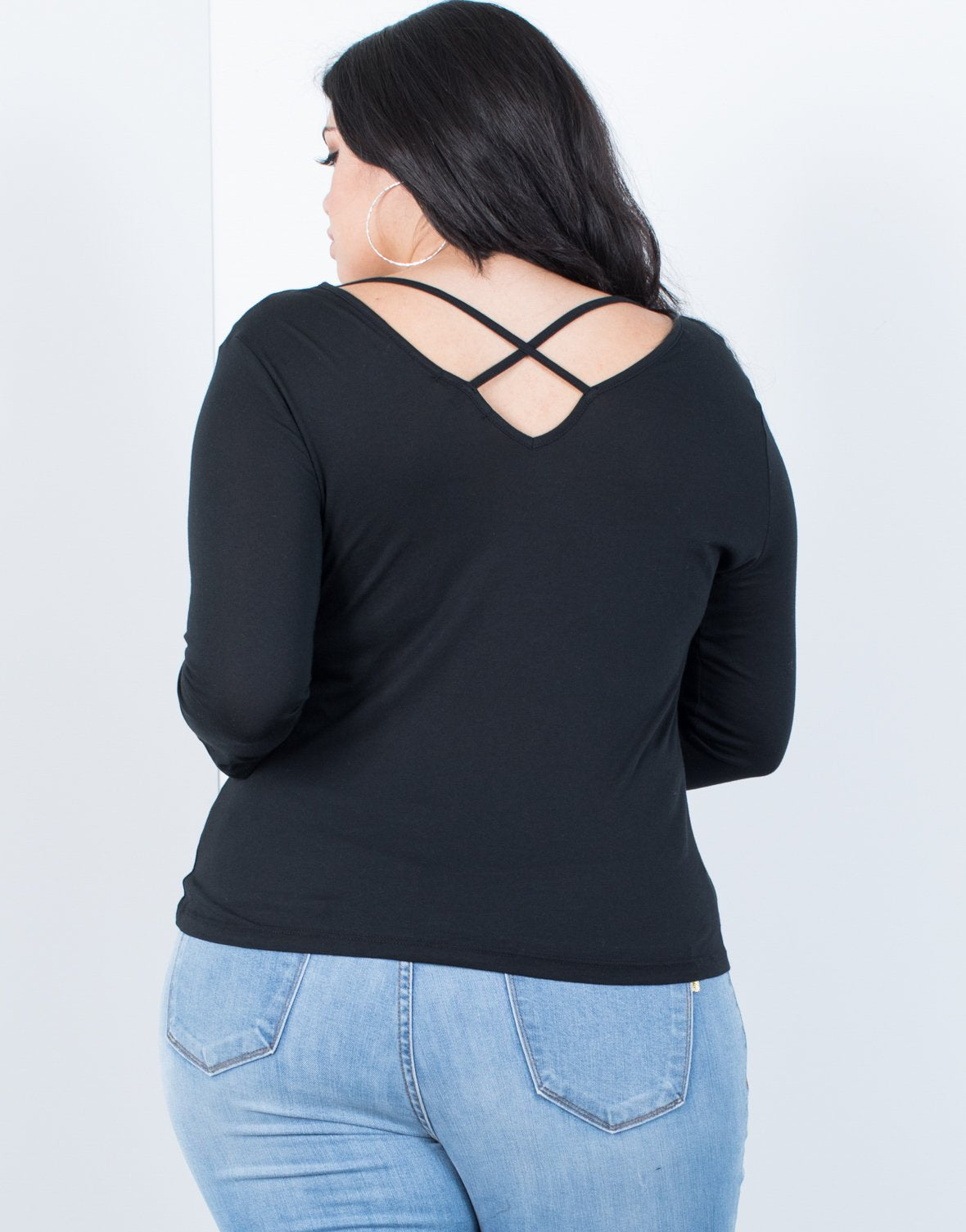 Plus Size Anna Basic Top - 2020AVE