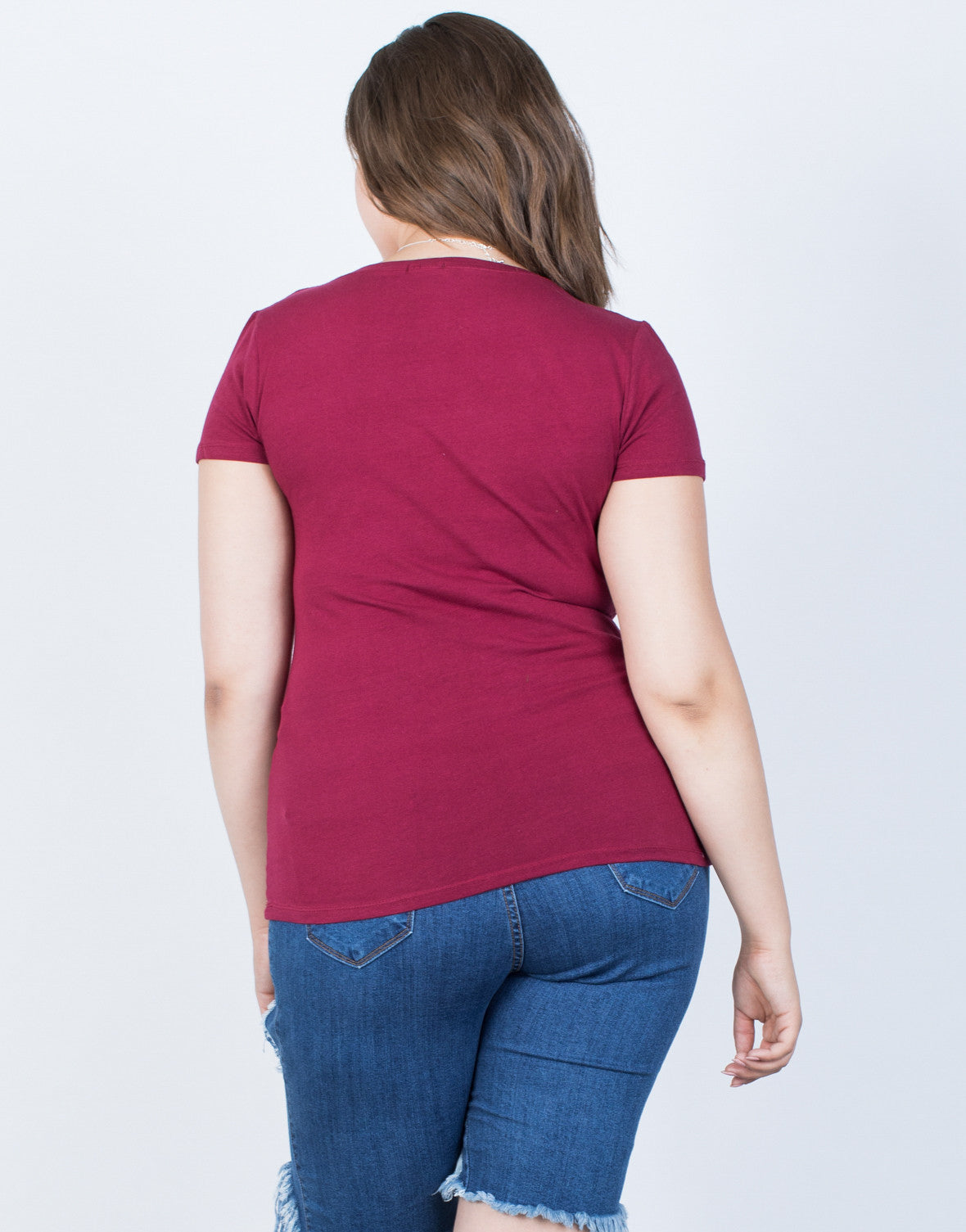 Plus Size Casual Day Tee - 2020AVE