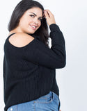 Plus Size Cozy Days Sweater - 2020AVE