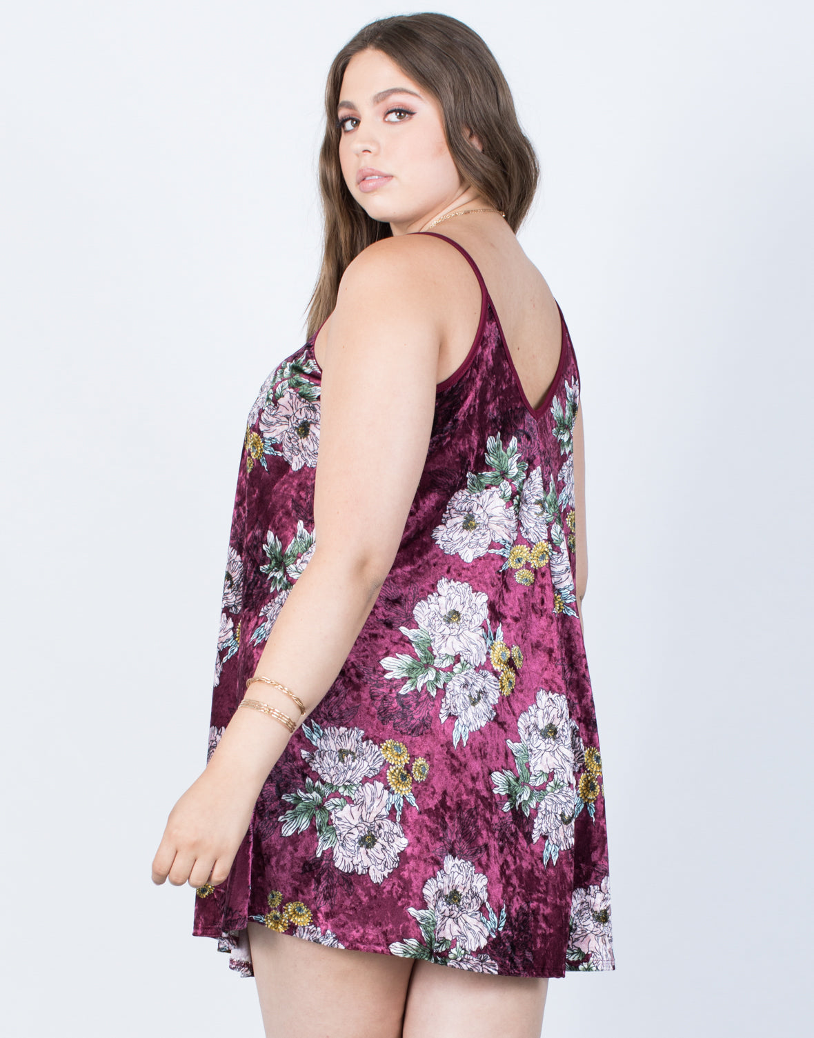 Plus Size Crushin' on Velvet Dress - 2020AVE