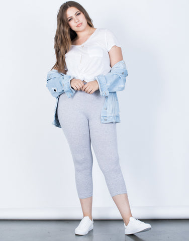 Plus Size Daily Comfy Leggings - 2020AVE