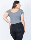 Plus Size Day to Night Bodysuit - 2020AVE