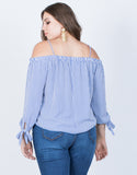 Plus Size Demi Striped Top - 2020AVE