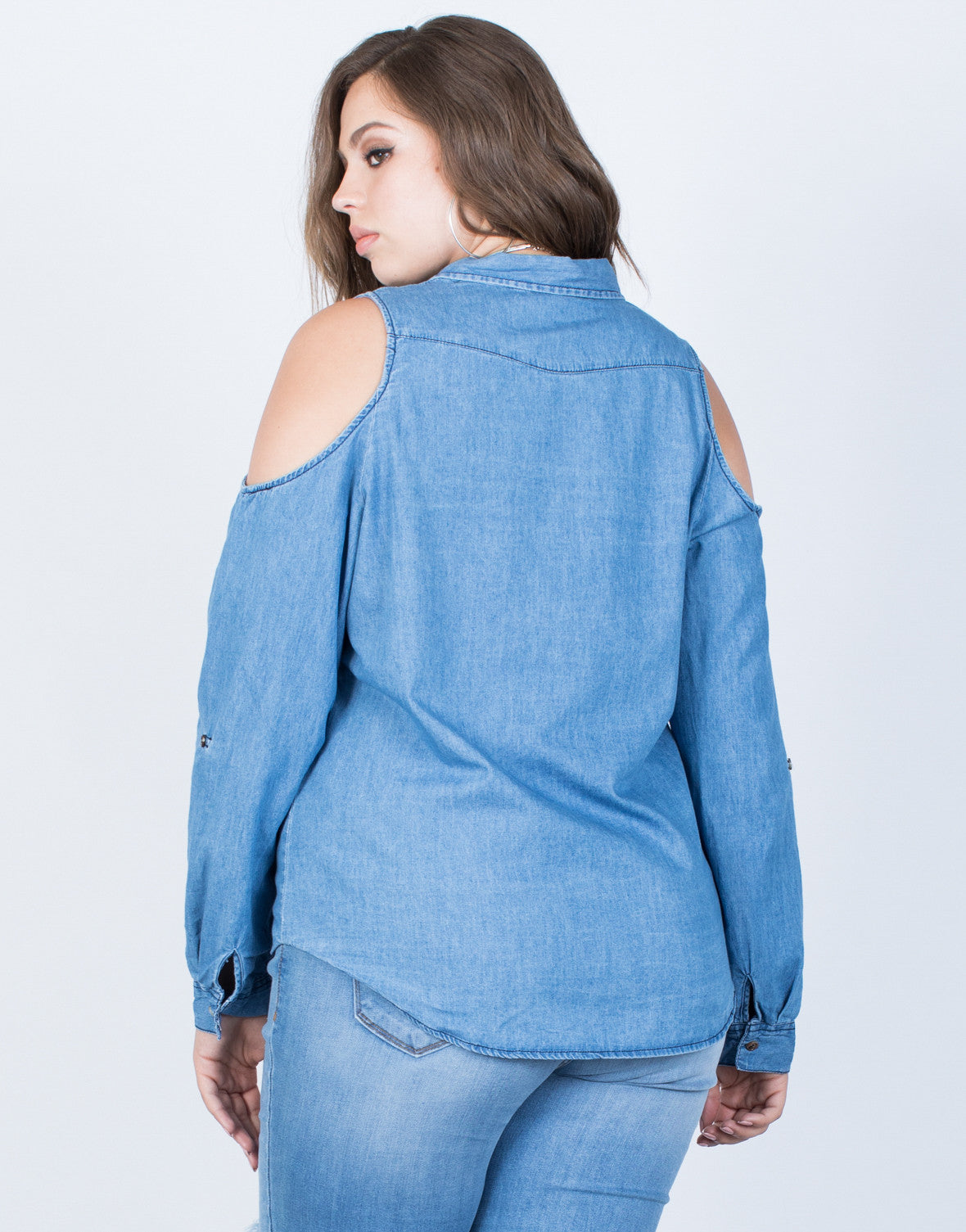 Plus Size Denim Days Top - 2020AVE