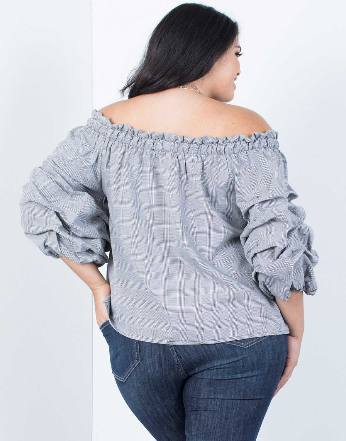 Plus Size Extreme Sleeves Blouse - 2020AVE