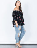 Plus Size Fallin' for Florals Top - 2020AVE