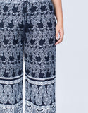 Detail of Plus Size Feelin' Bohemian Pants