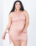 Plus Size Feelin' Pretty Lacey Dress - 2020AVE