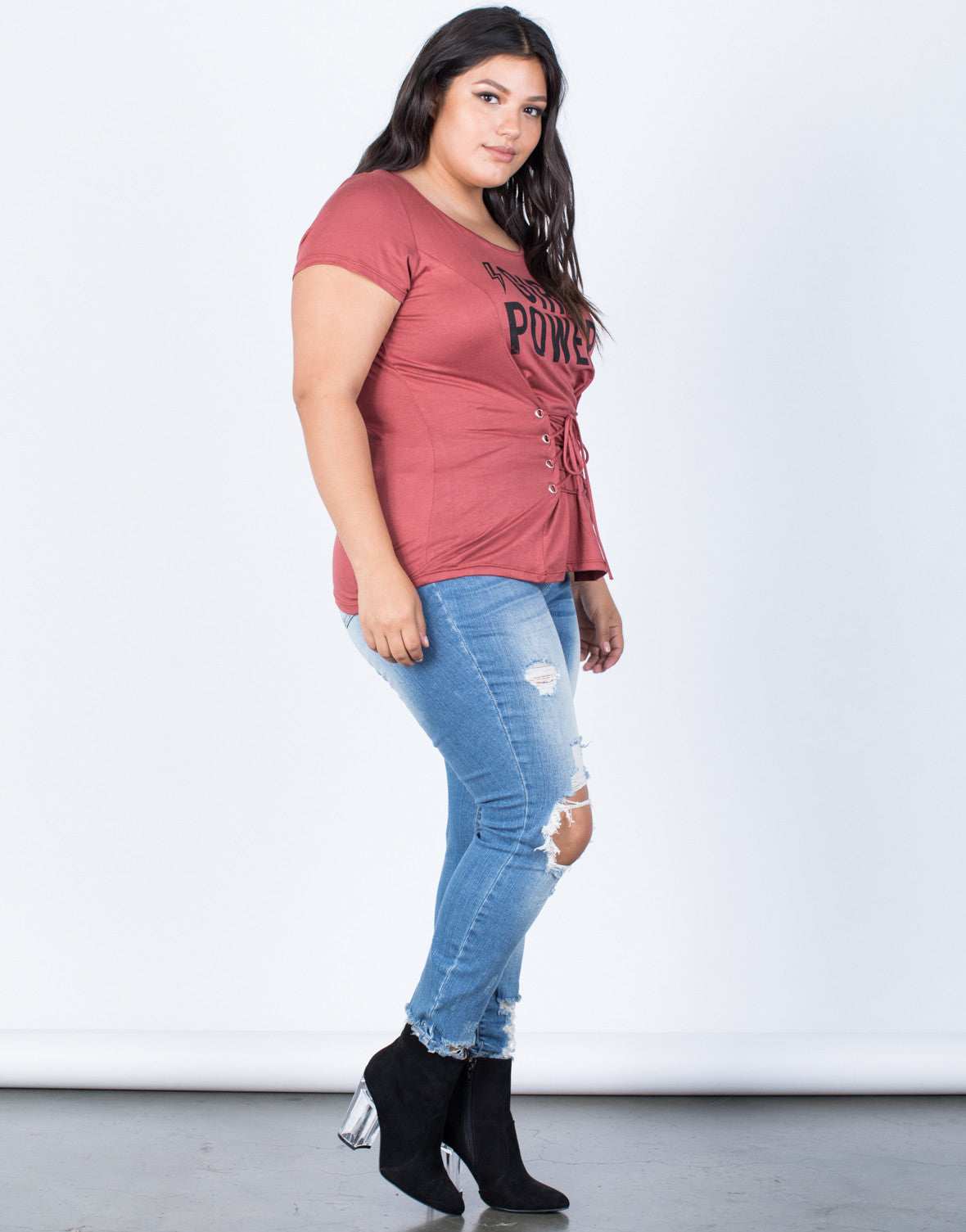 Plus Size Girl Power Tee – 2020AVE
