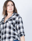 Plus Size It's so B&W Top - 2020AVE
