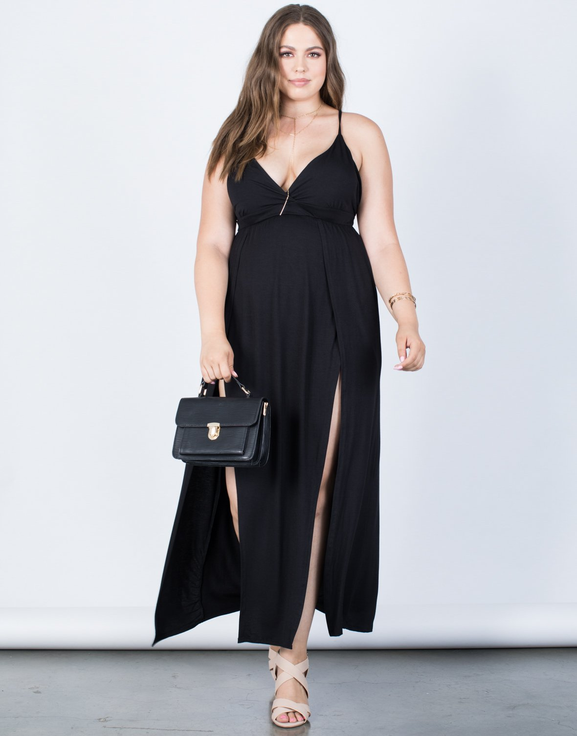 Plus Size Jade Strappy Dress - 2020AVE