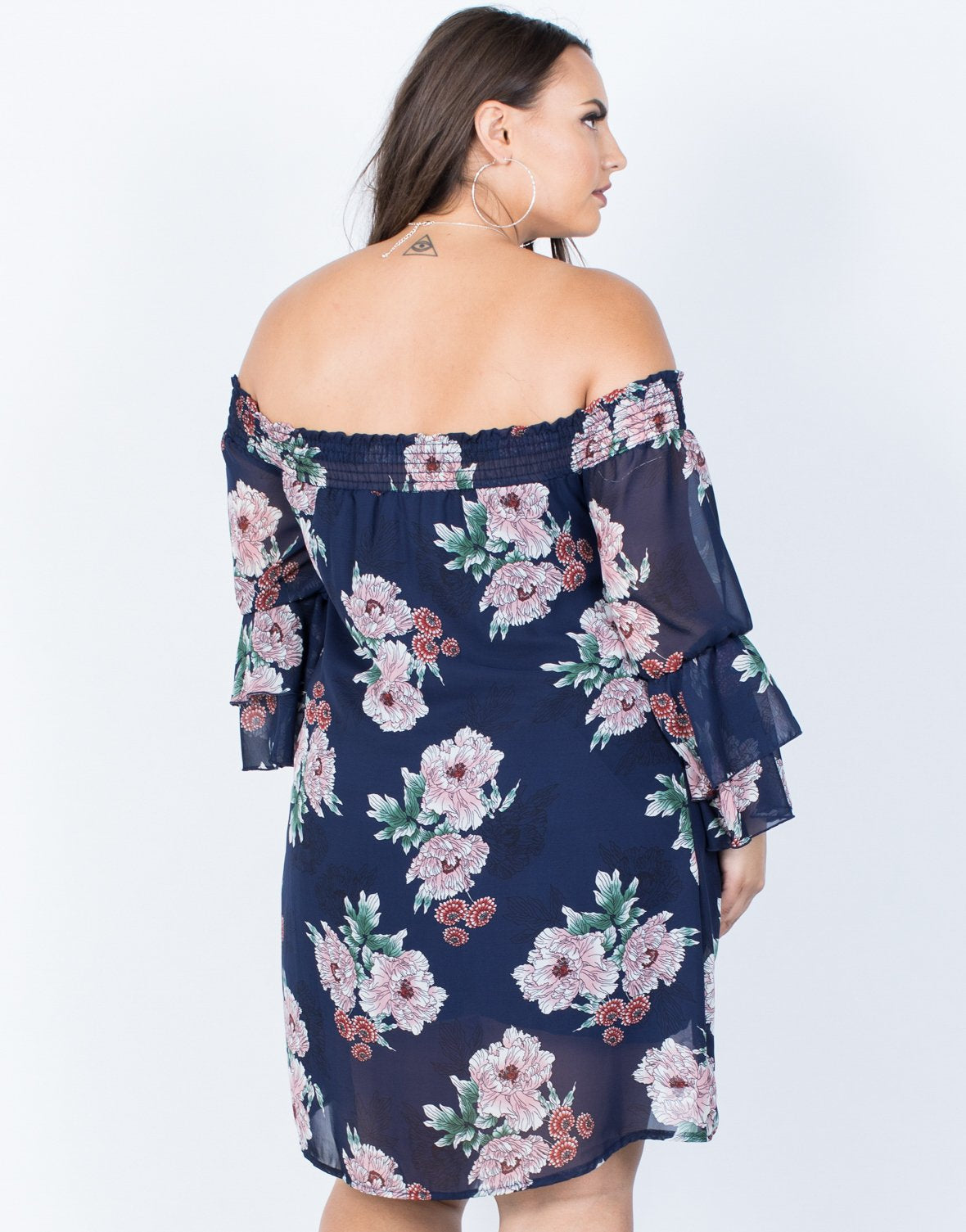 Plus Size Kimberly Floral Dress - 2020AVE