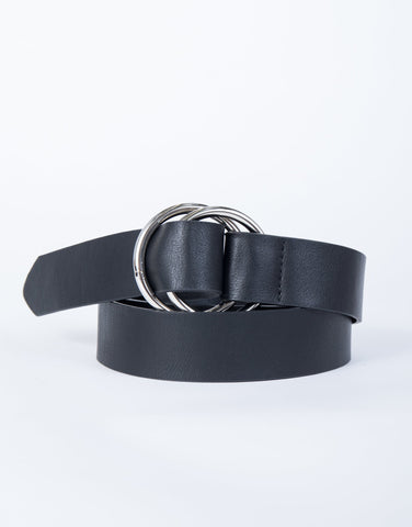 Plus Size Looped Together Belt