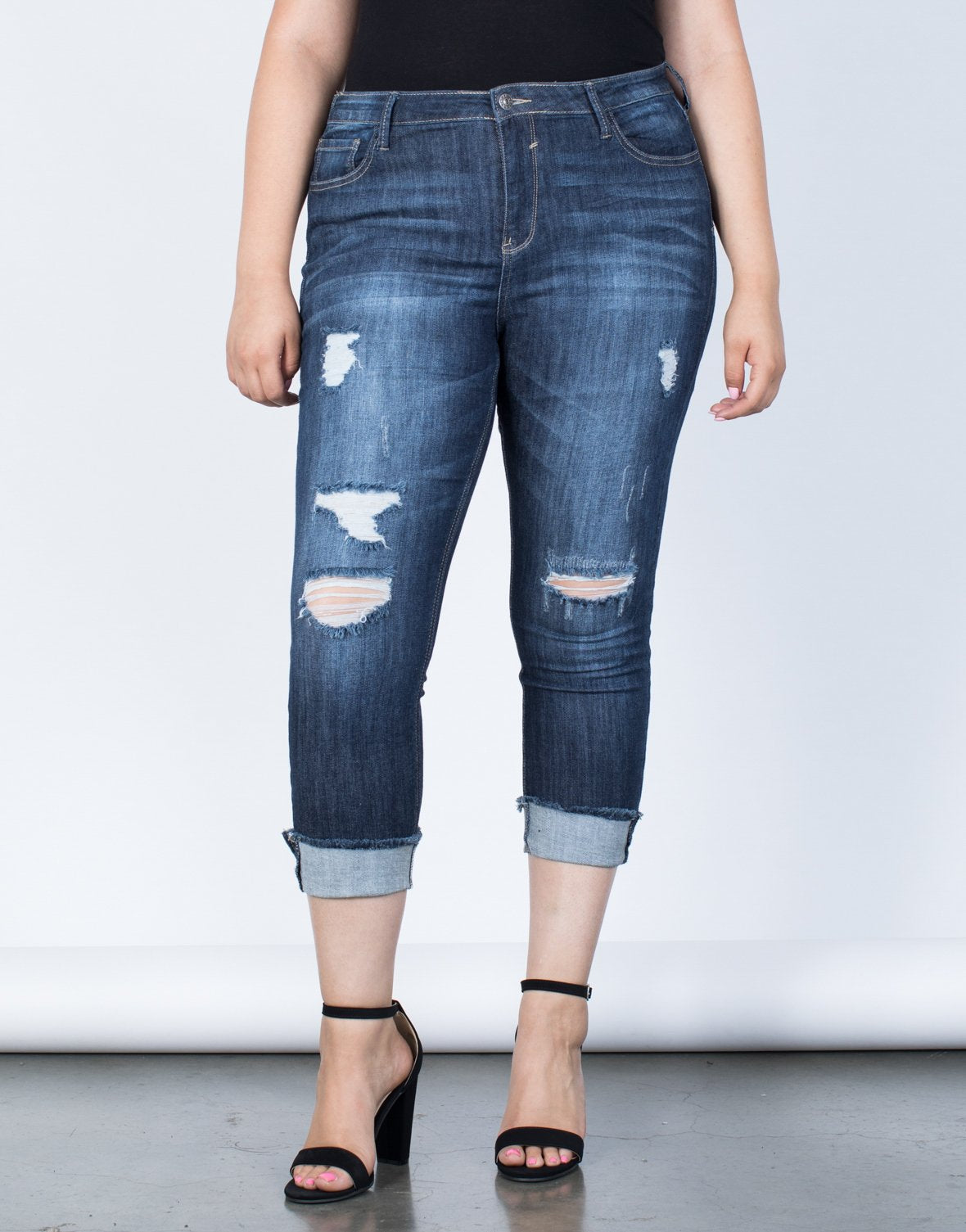 Plus Size On the Go Jeans - 2020AVE