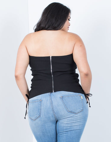 Plus Size Party Time Tube Top - 2020AVE