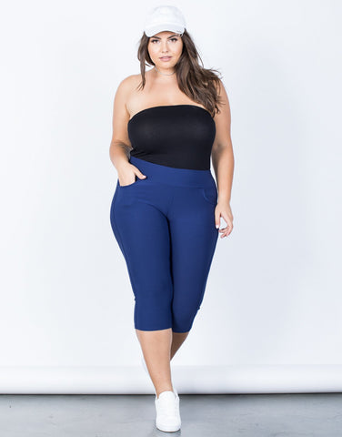 Plus Size Perfect Stretch Capri Pants - 2020AVE
