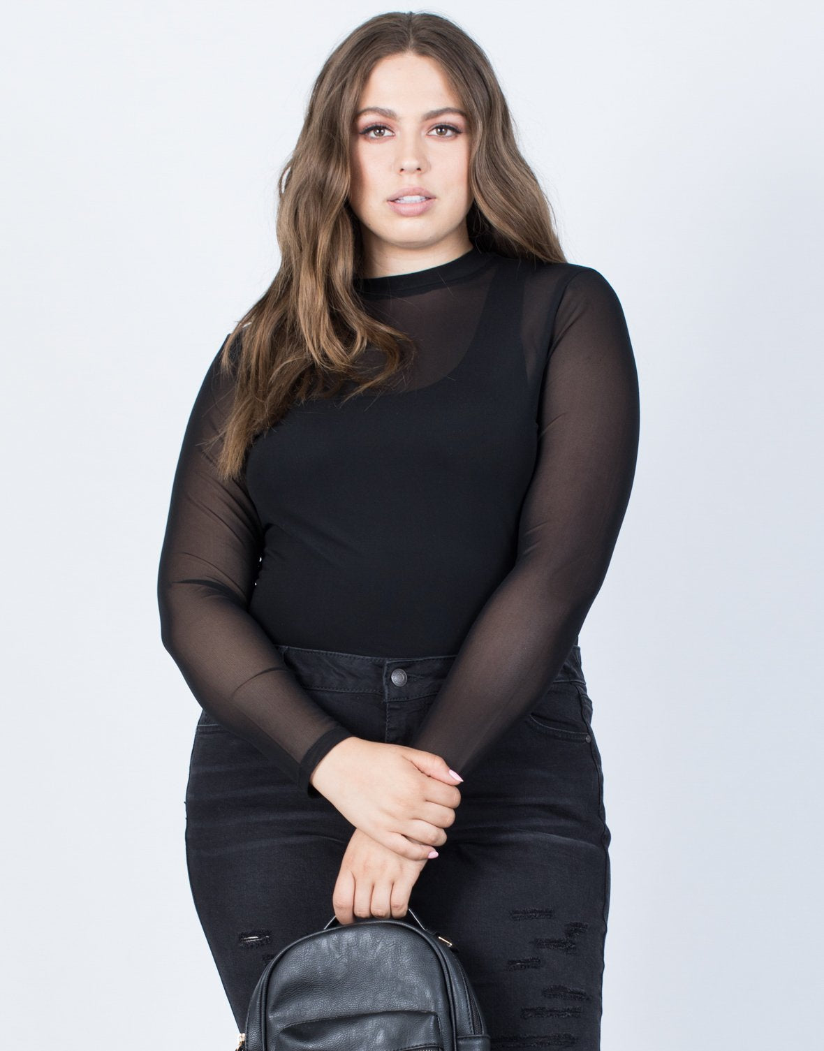 Plus Size Sheer Nights Bodysuit - 2020AVE