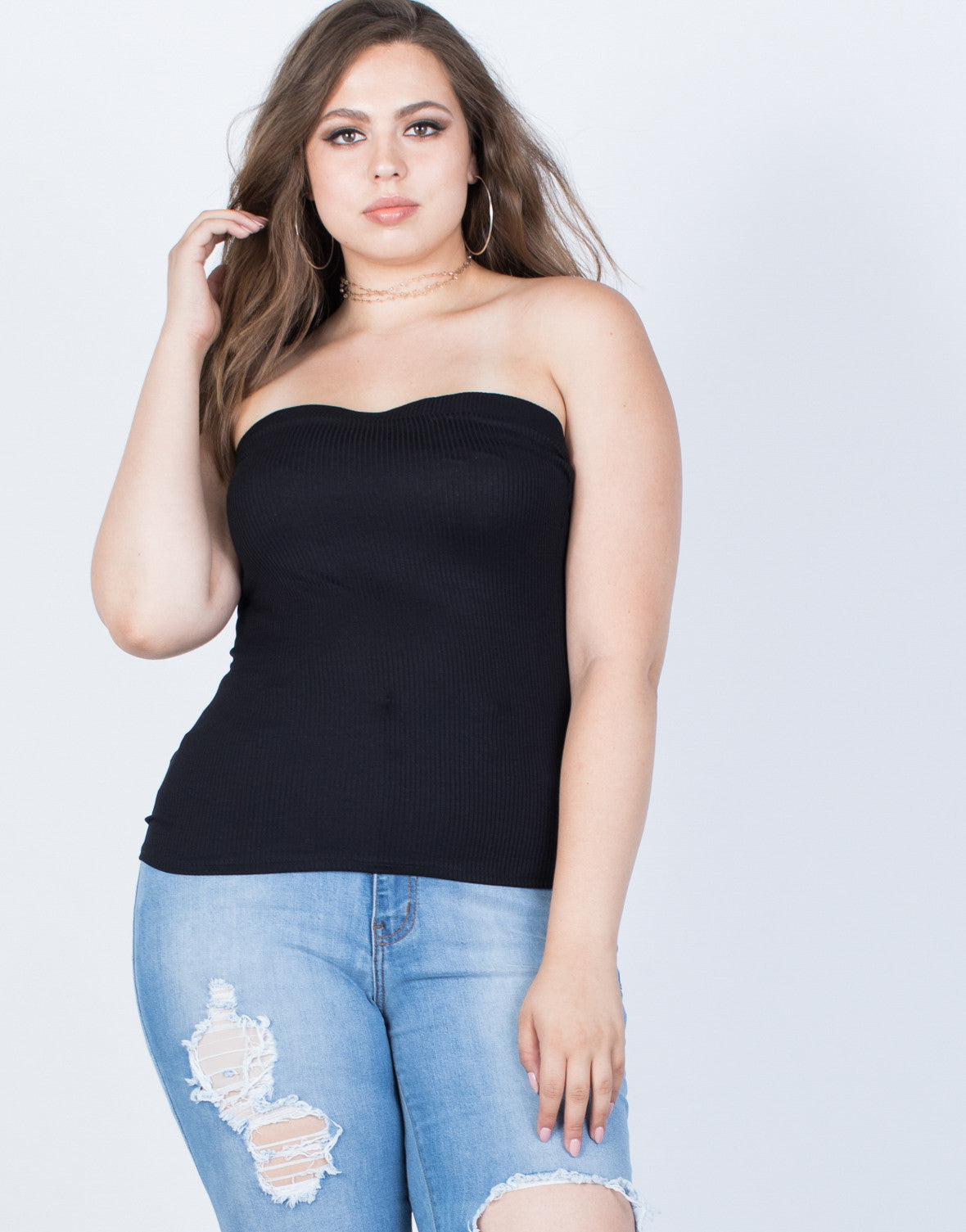 Plus Size Summer Tube Top – 2020AVE